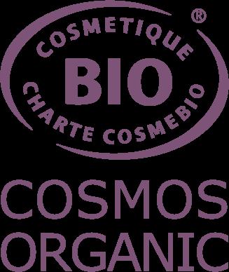 Cosmétiques bio par Cosmebulle, labellisé COSMOS ORGANIC.