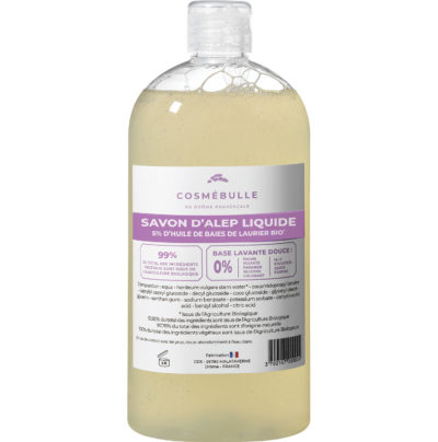 savon d'Alep liquide