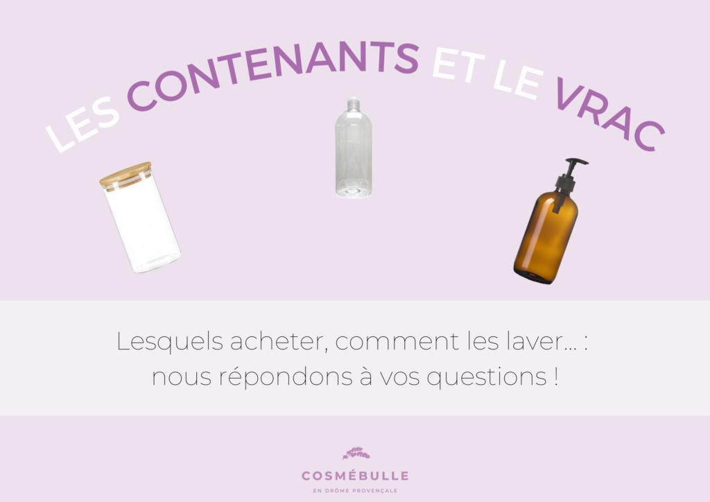 Image article Contenants et vrac